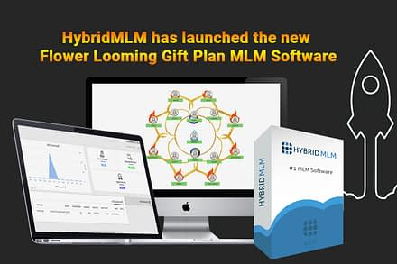 HybridMLM has launched the new Flower Looming Gift Plan MLM Software