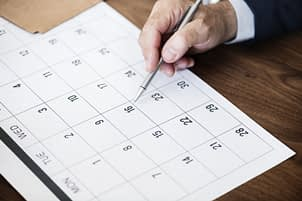 Event schedule tools