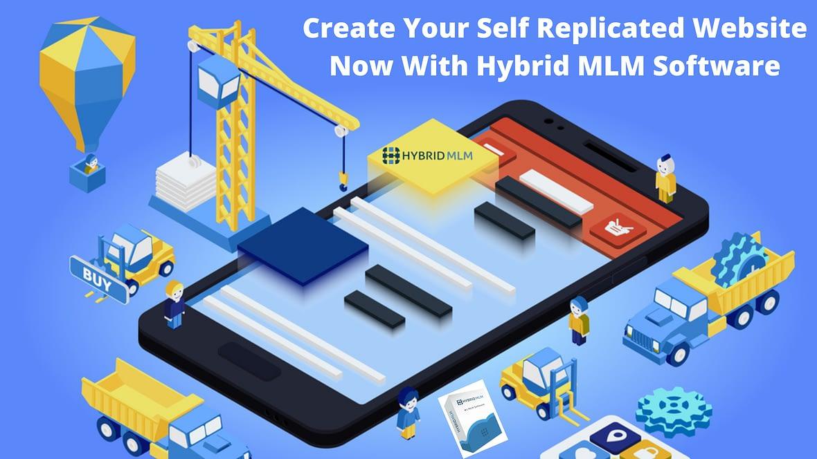 Self Replicated Website