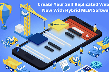 Self Replicated Website | Hybrid MLM Software
