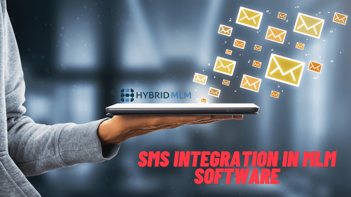SMS integration in MLM software