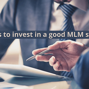 Reasons to invest in a good MLM software