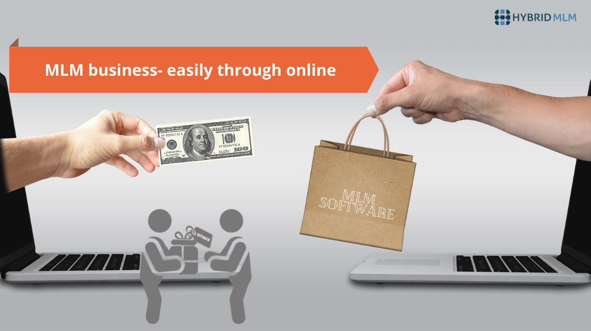 MLM business- easily through online