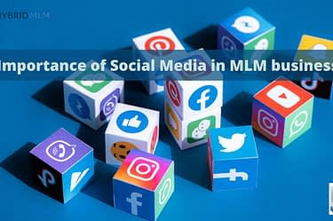 Social Media Icons | Hybrid MLM Software